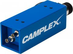 Camplex HYDAP-F1   SMPTE 311M Lemo EDW Female to Duplex ST Fiber Optic Adapter