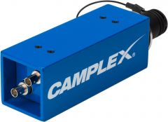 Camplex HYDAP-M1   Passive SMPTE 311M Lemo FXW Male to Duplex ST Fiber Optic Adapter/Converter