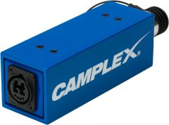 Camplex HYDAP-MNT1-PWR   Passive with Power SMPTE 311M Male to Neutrik OpticalCON DUO Adapter Fiber Optic Adapter