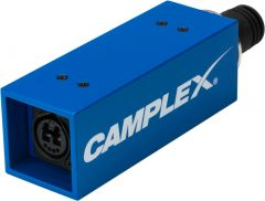 Camplex HYDAP-MNT1  Passive/No Power SMPTE 311M Male to Neutrik OpticalCON DUO Adapter Fiber Optic Adapter