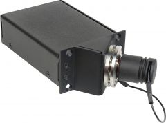 Camplex HYMOD-1R14   45 Degree SMPTE FXW Plug to 2 SC APC Fiber & 6-Pin AMP for 1RU HYMOD Systems