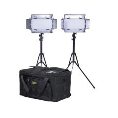 Ikan IB508-v2-2PT-KIT Kit w/ 2 x IB508-v2 Bi-color LED Studio...