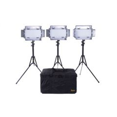 Ikan IB508-v2-KIT Kit w/ 3 x IB508-v2 Bi-color LED Studio Light