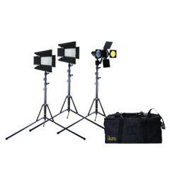 Ikan IBK2316 Flyweight Interview Kit w/2 x iLED312-v2 + 1 x...