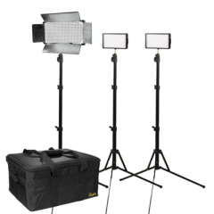 Ikan IBK2315-v2 Small Interview Bi-color Kit w/ 2 x iLED312-V2 +...