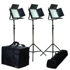 Ikan IFB1024-KIT Kit w/ 3 x IFB1024 Lights w/ AB & V-Mount...