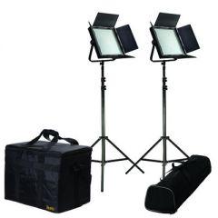 Ikan IFD1024-SP-2PT-KIT Kit w/ 2 X IFD1024-SP LED Spot Lights w/...