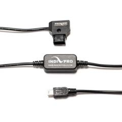 "Indipro Tools INDIGPCC Power Converter D-Tap to Mini USB 5V for Gopro Cameras (30"")"