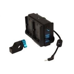 Indipro Tools IPQPK Quad LP-E6 Power Pod System for Blackmagic Pokcet Camera