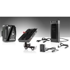 Shape 98 WH battery kit d-box camera power and charger for Sony a7 series - KBNPF