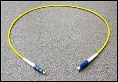 LYNX Yellobrik LC to LC Adapter Cable (simplex) 0.5M