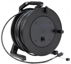 Laird Digital Cinema LCR-CAT6A-PS-300 LAIRD  Belden 10GX CAT6A Ethernet Cable with RJ45 ProShell & Reel Hub Mounted RJ45 Jack - 300 Foot