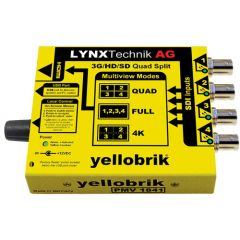 Lynx Yellobrik PMV 1841 3G/HD/SD to HDMI Quad Split Multiviewer