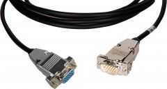 TecNec LOPROVGA-MF-50 Minature Low Profile VGA Cable - DSUB 15HD...