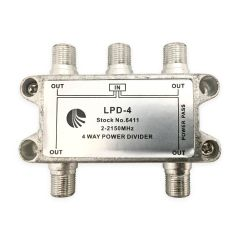 Blonder Tongue LPD-4 4-Way Splitter