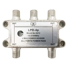Blonder Tongue LPD-4P 4-Way Splitter