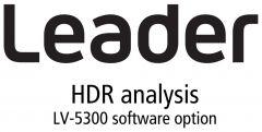 Leader Instruments LV5300-SER23 Leader  HDR - High Dynamic Range PQ Option for LV5300 - HLG & SLOG-3 Monitoring (software)