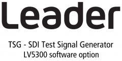 Leader Instruments LV5300-SER24 Leader  TSG - SDI Test Signal Generator for LV5300 (software)