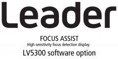 Leader Instruments LV5300-SER25 Leader  FOCUS ASSIST - High Sensitivity Focus Detection Display for LV5300 (software)