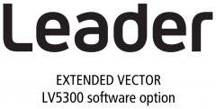 Leader Instruments LV5300-SER40 Leader  Extended Vector for LV5300 (software)