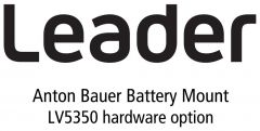 Leader Instruments LV5350-SER12 Leader  Anton Bauer Battery Gold Mount for LV5350 for LV5350 (hardware)