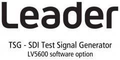 Leader Instruments LV5600-SER24 Leader  TSG - SDI Test Signal Generator for LV5600 (software)