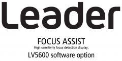 Leader Instruments LV5600-SER25 Leader  FOCUS ASSIST - High Sensitivity Focus Detection Display for LV5600 (software)