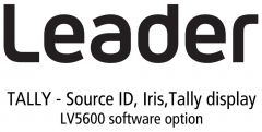 Leader Instruments LV5600-SER27 Leader  TALLY - Source ID / Iris / Tally Display for LV5600 (software)