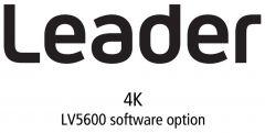Leader Instruments LV5600-SER28 Leader  4K Video Signal Format Support for LV5600 (software)