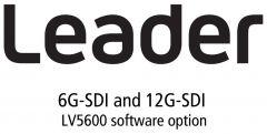 Leader Instruments LV5600-SER29 Leader  6G-SDI and 12G-SDI (Requires SER28) for LV5600 (software)