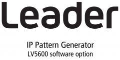 Leader Instruments LV5600-SER32 Leader  25G IP Signal Generation for LV5600 (software)