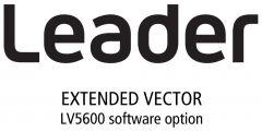Leader Instruments LV5600-SER40 Leader  Extended Vector for LV5600 (software)
