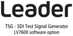 Leader Instruments LV7600-SER24 Leader  TSG - SDI Test Signal Generator for LV7600 (software option)