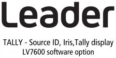 Leader Instruments LV7600-SER27 Leader  TALLY - Source ID / Iris / Tally Display for LV7600 (software option)