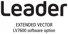 Leader Instruments LV7600-SER40 Leader  Extended Vector for LV7600 (software option)