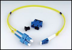 LYNX Yellobrik LC to SC Adapter Cable (duplex) SMF