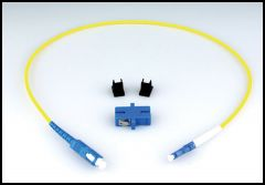 LYNX Yellobrik LC to SC Adapter Cable (simplex) SMF