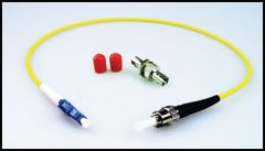 LYNX Yellobrik LC to ST Adapter Cable (simplex) SMF