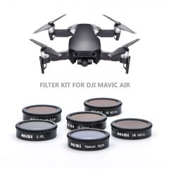 NiSi Filter kit for DJI Mavic Air (6 Pack) - NID-AIR-KIT