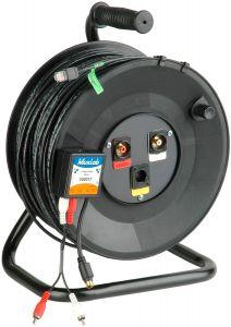 TecNec MKR-SVA-250 SVHS Video & Audio over CAT5 w/ 250ft of...