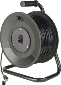 TecNec MKR-TC-100PS Connect-N-Go Reel Belden 7923A Cat5e w/ Pro...