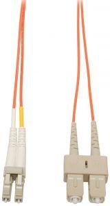 Camplex MMD62-LC-SC-001   62/125 Fiber Optic Patch Cable Multimode Duplex LC to SC - Orange - 1-Meter