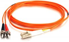 Camplex MMD62-ST-LC-033   62/125 Fiber Optic Patch Cable Multimode Duplex ST to LC - Orange - 33-Meter