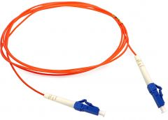 Camplex MMS62-LC-LC-100 100-Meter 62.5u/125u Fiber Optic Patch Cable Multimode SimplexLC to LC -Orange