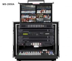 DataVideo MS-2850B HD/SD 8/12-Channel Mobile Video Studio