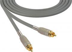 Sescom MSC50RRGY Audio Cable Mogami Neglex Quad RCA Male to RCA Male Gray - 50 Foot