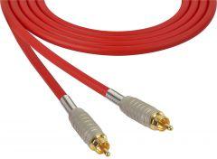 Sescom MSC75RRRD   Audio Cable Mogami Neglex Quad RCA Male to Male Red - 75 Foot