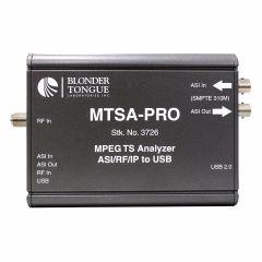 Blonder Tongue MTSA-PRO MPEG Transport Stream Analyzer
