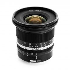 NiSi 15mm f/4 Sunstar Wide Angle ASPH Lens (Fujifilm X Mount) - NISI-LENS-1540XF