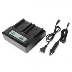 Shape SHAPE NP-F dual LCD charger - NPFCH